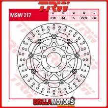 MSW217 DISCO FRENO ANTERIORE TRW Suzuki GSXR 750 1988-1989 [FLOTTANTE - ]