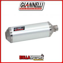 73806A6+71211IN TERMINALE GIANNELLI IPERSPORT HONDA MSX 125 2013-2015 ALLUMINIO/INOX + COLLETTORE RACING