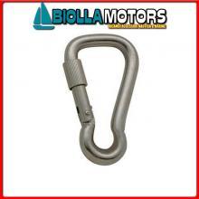 0211880 MOSCHETTONE WIDE LOCK D8 INOX Moschettone Wide Lock