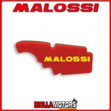 1414532 SPUGNA FILTRO ARIA MALOSSI DERBI VARIANT SPORT 125 4T DOPPIO STRATO DOUBLE RED SPONGE PER FILTRO ORIGINALE -
