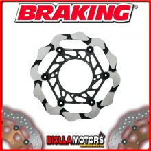 BY4123 DISCO FRENO ANTERIORE SX BRAKING HUSQVARNA CR 125cc 2005-2012 WAVE FLOTTANTE