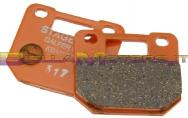 S6-ET1402BB COUPLE BRAKE PADS RACING PER PINZA 4 PISTONI STAGE6 R/T