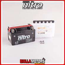 YTX7A-BS-N BATTERIA NITRO YTX7A-BS SIGILLATA CON ACIDO YTX7ABS MOTO SCOOTER QUAD CROSS