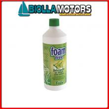 5731205 FOAM FREE DETERGENT 1L Detergente Senza Schiuma Foam Free