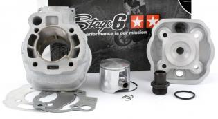 S6-7019310 cilindro KIT STAGE6 BIGRACING 77cc, DERBI EURO 3