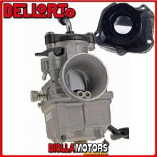 BR-61+09357 CARBURATORE DELLORTO VHST 28 BS + COLLETTORE DRITTO ROTAX 122
