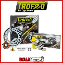 2556911541 KIT TRASMISSIONE TROFEO DUCATI Monster 1100 - S - Evo ( Ratio - 2 ) 2009-2013 1100CC