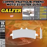 FD373G1300 PASTIGLIE FRENO GALFER GP ANTERIORI HUSQVARNA NUDA 900 R 11-