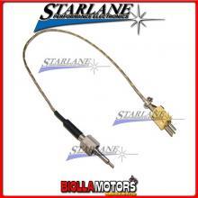 STKM12GS Sensore STARLANE temperatura gas scarico professionale a giunto scoperto flangia femmina M12.
