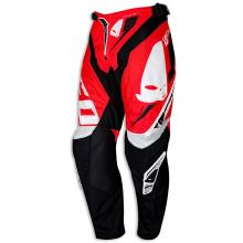"PI04390BFLU/50 PANTALONE CROSS ENDURO UFO REVOLUTION ""MADE IN ITALY"" ROSSA TAGLIA 50"