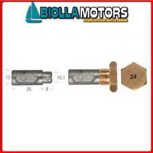5127532 ANODO BARROTTO Barrotti Motore Aifo-Fiat (13x26+8mm)