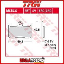MCB737 PASTIGLIE FRENO ANTERIORE TRW Kawasaki ZRX 400 1998-2003 [ORGANICA- ]