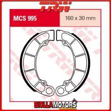 MCS995 GANASCE FRENO POSTERIORE TRW Honda FES 125 Pantheon 1998-2002 [ORGANICA- ]