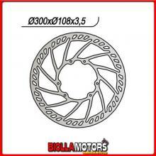 659841 DISCO FRENO ANTERIORE NG APRILIA SX (PV00/PVA00) 50CC 2006/2011 841 Turbine 300-125-108-3,5-6