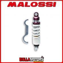 468611 AMMORTIZZATORE POSTERIORE MALOSSI RS24 MBK NITRO 50 2T LC , INTERASSE 290 MM -