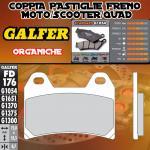 FD176G1054 PASTIGLIE FRENO GALFER ORGANICHE ANTERIORI CAGIVA X-TRA RAPTOR 02-