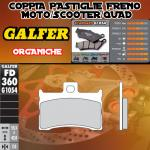 FD360G1054 PASTIGLIE FRENO GALFER ORGANICHE ANTERIORI METRAKIT MINI GP 70 R 08-