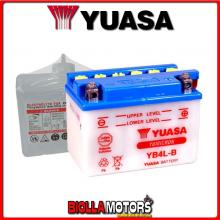 E01111 BATTERIA YUASA YB4L-B CON ACIDO YB4LB MOTO SCOOTER QUAD CROSS