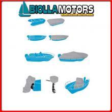 3270002 TELO C.BARCA SHIELD XXS L427-488x W180CM Teli Copri Barca Silver Shield