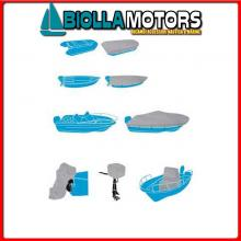 3270009 TELO C.BARCA SHIELD XXXL 700-780x W400CM Teli Copri Barca Silver Shield