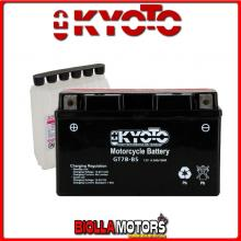 712077 BATTERIA KYOTO YT7B-BS SIGILLATA CON ACIDO YT7BBS MOTO SCOOTER QUAD CROSS