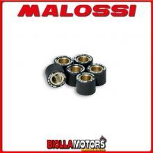 669417.N0 6 RULLI RULLI VARIATORE MALOSSI D. 15X12 GR. 8,3 ITALJET MILLENNIUM 100 2T - -