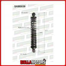 SAM0039 COPPIA AMMORTIZZATORI POSTERIORI MICROCAR CHATENET MEDIA CH16 01,16,005 (MK039)