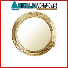 5807530 SPECCHIO OBLO D300 OTTONE Specchio Oblo'