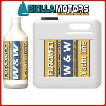 5732434 W&W SHAMPOO 1LT PER VTR Detergente e Cera EM W&W Shampoo