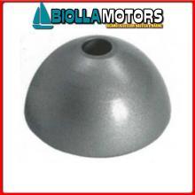 5111300 ANODO OGIVA FLEXOFOLD ALU Anodi in Alluminio a Ogiva Flexofold