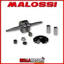 5315973 ALBERO MOTORE MALOSSI MHR BENELLI 491 SPORT 50 2T LC (MINARELLI) BIELLA 85 - SP. D. 12-13 CORSA 39,3 MM -