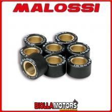 669919.L0 8 RULLI VARIATORE MALOSSI D. 20X12 GR. 14 MBK SKYLINER 250 4T LC - -