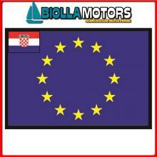 3403830 BANDIERA CROAZIA UE 30X45CM Bandiera Croazia UE
