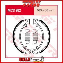 MCS802 GANASCE FRENO POSTERIORE TRW Honda CJ 250 T 1977-1978 [ORGANICA- ]