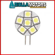 2167521 LAMPADINA LED G4 12/24V D28 BACK PIN< Lampadine LED G4