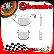 07KA0717 PASTIGLIE FRENO POSTERIORE BREMBO FANTIC MOTOR CABALLERO MOTARD AIRCOOLED 2010- 125CC [17 - ROAD CARBON CERAMIC]
