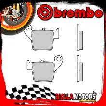 07HO48TT PASTIGLIE FRENO POSTERIORE BREMBO FANTIC MOTOR CABALLERO ENDURO 2012- 125CC [TT - OFF ROAD]