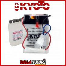 706027 BATTERIA KYOTO 6N2A-2C [SENZA ACIDO] 6N2A2C MOTO SCOOTER QUAD CROSS [SENZA ACIDO]