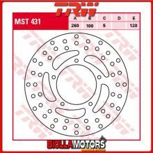 MST431 DISCO FRENO POSTERIORE TRW Aprilia NA 850 Mana,ABS 2007-2011 [RIGIDO - ]