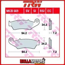 MCB669SI PASTIGLIE FRENO ANTERIORE TRW Kawasaki KLX 400 2003- [SINTERIZZATA- SI]