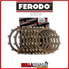 FCD0611 SERIE DISCHI FRIZIONE FERODO PIAGGIO (motocarri) APE MP 220 P 501 (I SERIE) con scodellino 220CC - CONDUTTORI STD