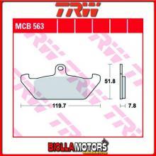 MCB563 PASTIGLIE FRENO ANTERIORE TRW Ducati 350 Indiana 1986- [ORGANICA- ]