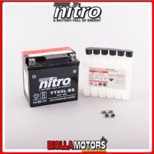 YTX5L-BS-N BATTERIA NITRO YTX5L-BS SIGILLATA CON ACIDO YTX5LBS MOTO SCOOTER QUAD CROSS