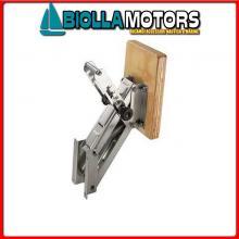 0520515 SUPPORTO MOTORE 15HP FISSO INOX Supporto Motore a Pantografo L