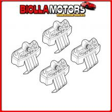 N21214 NORDRIVE KIT ATTACCHI - 214 VOLKSWAGEN POLO 5P (10/17>)