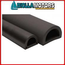 3834090 PARACOLPI 3MT 90 BLACK Profili Paracolpi In PVC