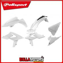 P90704 KIT PLASTICHE CARENE BETA RR 480 2015-2017 BIANCO POLISPORT