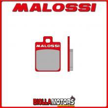 6215080 - 6215007BR COPPIA PASTIGLIE FRENO MALOSSI Anteriori APRILIA SCARABEO 50 4T (PIAGGIO C373M) MHR Anteriori - per veicoli