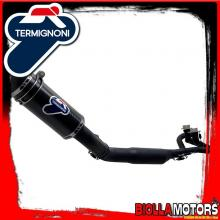 Y099080CVB EXHAUST FULL TERMIGNONI YAMAHA T MAX 530 2012-2016 RELEVANCE INOX/CARBON