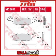 MCB681SRQ PASTIGLIE FRENO ANTERIORE TRW Kawasaki ER-6 650 F, ABS 2006-2008 [SINTERIZZATA- SRQ]